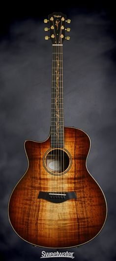 Taylor K26ce Left Hand - AA Top, Shaded Edge Burst, Left-handed | Sweetwater