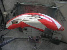 Kamikaze Fighter Airbrush & Custom Paint Job