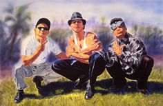 Vatos Locos (Blood In-Blood Out , Bound by Honor) Arte Cholo, Cholo Art, Chicano Love, Chicano Art, Mexican Art, Mexican Style, Estilo Cholo, Billy The Kid, Benjamin Bratt