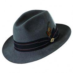 6a15da72 Stacy Adams Wool Felt Fedora Hat - Overstock™ Shopping - Great Deals on Stacy  Adams Men's Hats