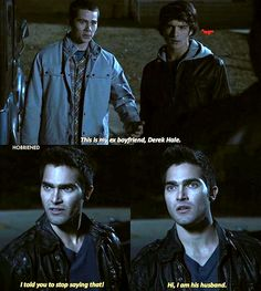 Super Funny Stories For Teens Wolves Ideas Teen Wolf Memes, Teen Wolf Funny, Teen Wolf Boys, Teen Wolf Dylan, Teen Wolf Cast, Sterek Fanart, Teen Wolf Ships, Cute Gay, Series Movies