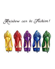 Fashion Rainbow