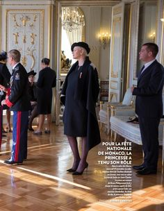 Prince Albert and Princess Charlene of Monaco - Paris Match - Monaco National Day 2014