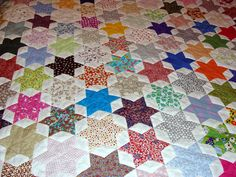 WIP Friendship Star Quilt - top finished! 2 | Flickr - Photo Sharing!