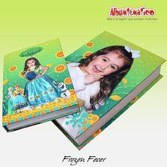 Frozen fever   album personalizado +caixa livro  #caixalivro #albumtematico #albumpersonalizado #fotografiainfantil  contato@albumtematico