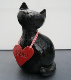 MO KERAMIK - Figuren, Tiere, Keramik Katze