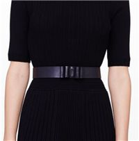Club Monaco - Cadin Bow Belt: While it is not required, the addition of a belt, covering the elastic at the waist of a jumpsuit - adds a nice finish.