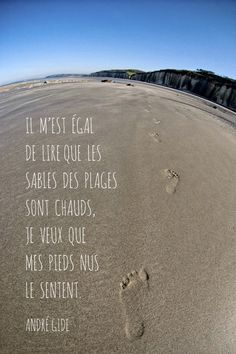 Citations De Plage sur Pinterest | Citations Sur Le Flirt, Citations ...