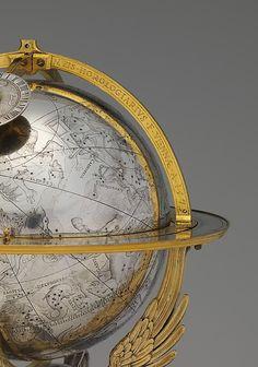 Celestial clockwork globe.1579, Vienna, Austria