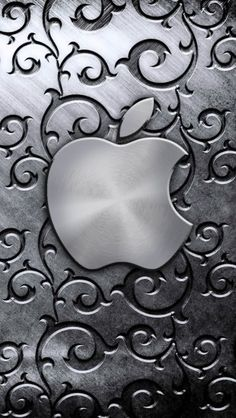 Silver Apple Logo - The iPhone Wallpapers