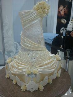 Wedding Dress Design Cake