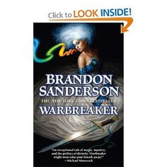 And this one is my all time favorite that Brandon Sanderson writes. I love him! He is an inspiration!