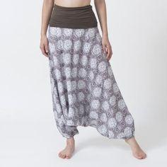 <ヨギー・サンクチュアリ>ファイヤーワークスジニーパンツ チョコミント Indigo, Harem Pants, Skirts, Style, Fashion, Swag, Moda, Harem Trousers, Skirt