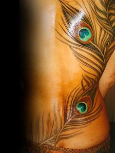 peacock feather from Mike the Athens - Click image to find more tattoos Pinterest pins