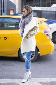 Pin for Later: Catch Up on All of NYFW's Best Street Style Day 1