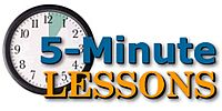 5-Minute Lessons: One-Handed Duple and Triple Strokes