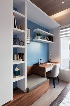 awesome 34 Cool And Thoughtful Home Office Storage Ideas  https://decoralink.com/2017/12/09/34-cool-thoughtful-home-office-storage-ideas/