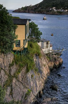 In the Battery, St John's, Newfoundland, Canada Newfoundland Canada, Newfoundland And Labrador, Canadian Travel, Canadian Art, Beautiful World, Beautiful Places, Places Around The World, Around The Worlds, Atlantic Canada