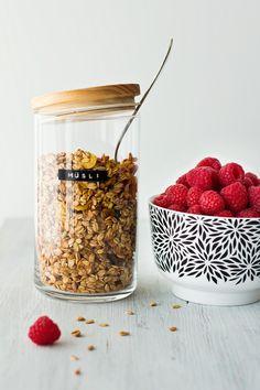 Selbst gemachtes Granola - Gesundes Müsli selber machen