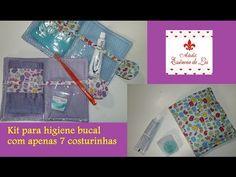 PAP - Kit higienico bucal em apenas 7 costurinhas - Ateliê Essência de Lis - YouTube Patchwork Quilt, Sewing Hacks, Aurora, Youtube, Bandanas, Fabric Basket, Flower Fabric, Oral Hygiene, Organizers
