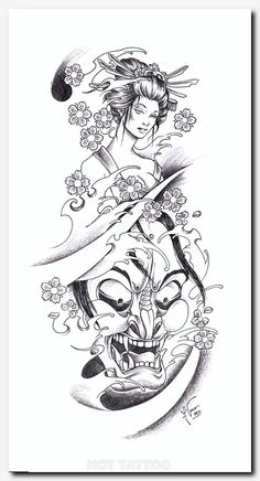 Only the best free Dragon Geisha Tattoo Drawings tattoo's you can find online! Dragon Geisha Tattoo Drawings tattoo's to print off and take to your tattoo artist. Geisha Tattoos, Tatoo Geisha, Geisha Tattoo Design, Japan Tattoo Design, Tattoo Arm Designs, Japanese Tattoo Designs, Japanese Tattoo Art, Japanese Sleeve Tattoos, Tattoo Design Drawings