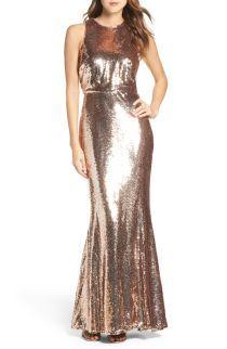 Lulus Sequin Mermaid Gown | No