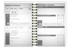 Umpire Mockup 1.001 Netball Coach, Day Schedule, Virtual Assistant, Diaries, Mockup, All About Time, Goals, Journals, Miniatures