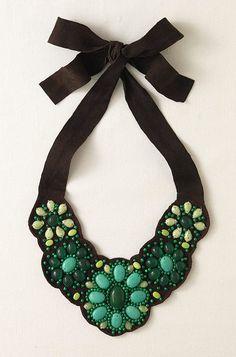 Cortez Bib Necklace - $65