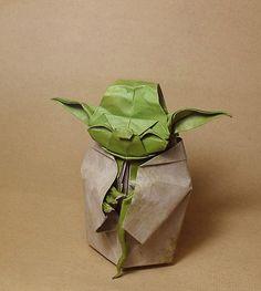 Yoda Origami = Skills! :)