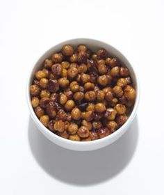 Soy-Roasted Chickpeas