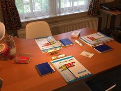 Het werkmateriaal ligt klaar voor de Ik Leer Leren training bij Ik Leer Leren Apeldoorn
