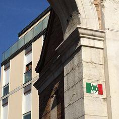 È arrivato #Invader a #Ravenna http://instagram.com/invaderwashere #streetart