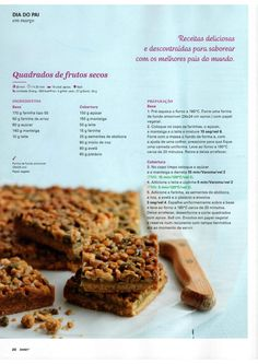 Revista bimby 2015 março by Ricardo Fernandes - issuu Happy Foods, Secret Recipe, Betty Crocker, Carrot Cake, Cake Recipes, Deserts, Food Porn, Food And Drink, Snacks