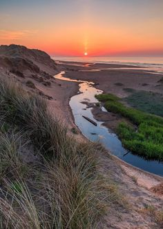 The Sun is Shining upon Balmedie Beach in Aberdeenshire, Scotland by Neil Donald Photography.