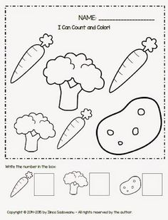 Free print out fruits and vegetables coloring for kids - Didi ...