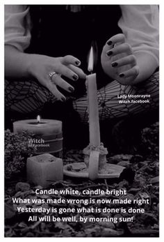 """"""" THE BASICS OF CANDLE MAGIC Starting out in candle magick can be intimidating, what with all the candle colors,types of candles,herbal and astrologial associations,and purposes of. Magick Spells, Wicca Witchcraft, Candle Spells, Candle Magic, Celtic, Under Your Spell, Eclectic Witch, By Any Means Necessary, Witch Spell"""