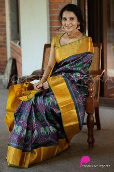 Pattu Saree Blouse Designs, Fancy Blouse Designs, Blouse Neck Designs, Blouse Models, Saree Models, Traditional Blouse Designs, Saree Trends, Designer Blouse Patterns, Silk Sarees
