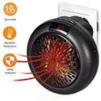 Instant Heatermini Heizung Thermostat Elektrische Heizung Mit Timer Heizlufter Fur Steckdose Heizen Elektrische Heizung Steckdosen Elektrisch