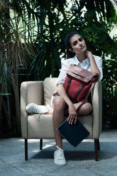 Women's Backpack Casual | A portuguese Brand of leather goods