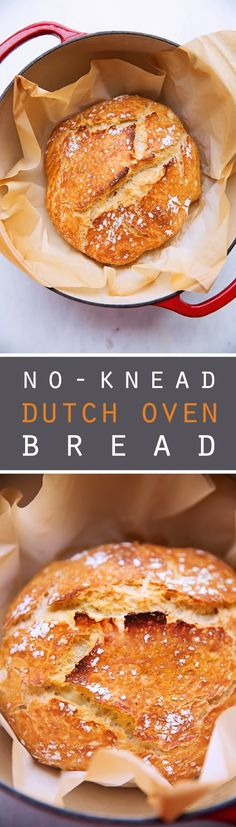 No-Knead Dutch Oven