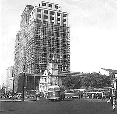 SÃO PAULO: PRAÇA CLÓVIS BEVILÁQUA, 1957