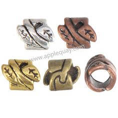 Zinc Alloy Large Hole Beads,Plated,Cadmium And Lead Free,Various Color For Choice,Approx 6.5*8mm,Hole:Approx 4mm,Sold By Bags,No 001751