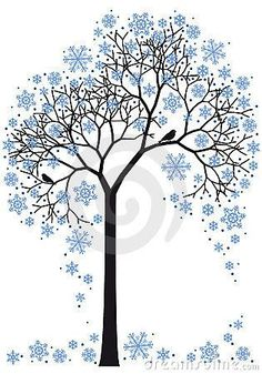 winter tree. this is awesome.: