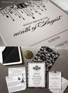 Editor's Pick: Luxurious Wedding Invitations from Zenadia Design
