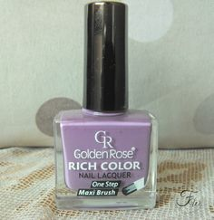 Recenzja lakieru Golden Rose Rich Color 47