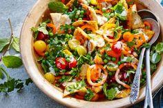 Pita met frisse salade