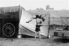 Female tumblers, 1928 CIRCUS PERFORMERS, 1899-1928