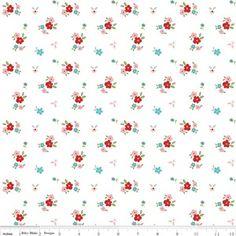 Tasha Noel - Little Red Riding Hood - Floral in White