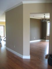 Living Room, Hallway, and Dinning Room paint idea, Sherwin Williams (Sands of time sw 6101)