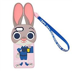 Disney Judy Hopps iPhone 6 Case - Zootopia | Disney StoreJudy Hopps iPhone 6 Case - Zootopia - ''Protect the herd'' and your iPhone 6 with Judy Hopps, dedicated member of the Zootopia Police Department. Never be more than a <i>hare</i> away from urgent calls to duty with the attachable ''ZPD'' wrist strap.